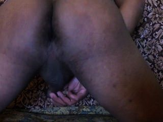 Boy Masturbating And Showing His Balls
