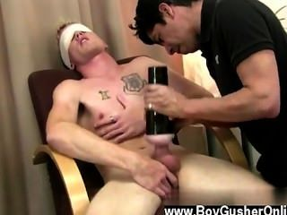 Gay Jocks Mr. Hand Then Takes Over Once Again Masturbating And Jerkin On