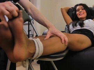 Charley Atwell Nylon Tickle