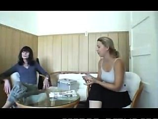 German Goddess And The Foot Slave