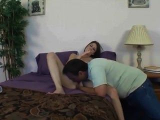 Naughty Smoking Stepdaughter Seduces Her Daddy!