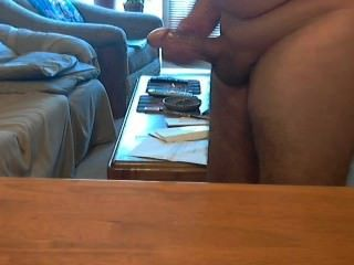Cumming On My Table!