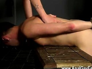 Naked Men Captive Fuck Slave Gets