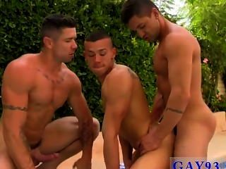 Gay Xxx After Working Both Their Holes, Trenton Glides His Ginormous