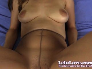 Lelu Love-pov Pantyhose Smelling Footjob Cumshot