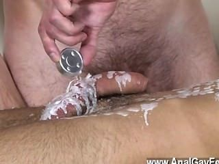 Hot Gay Dom Fellow Kieron Knight Has A Uber-sexy Young Lad To Play With