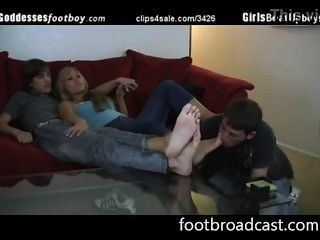 Foot Humiliation