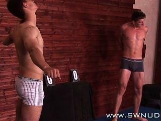 Nude Wrestling Ivan Petera Vs Jan Faust