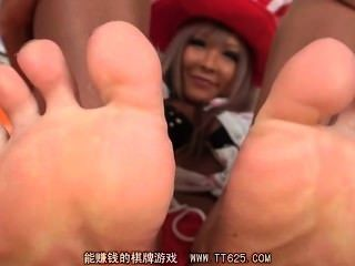 Japanese Sexy Toes
