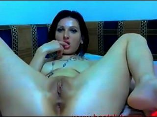 Hot Masturbation With Spread Ass On Cam