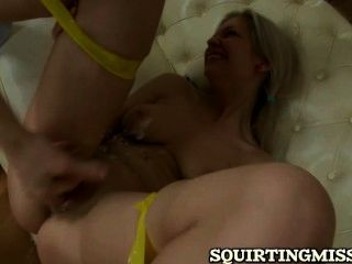 Anal Fucking For Squirting Blonde Babe