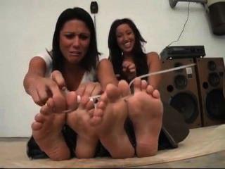 Zip Tied Toes