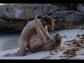 Extreme Art Sex Of Fine Couple On Beach