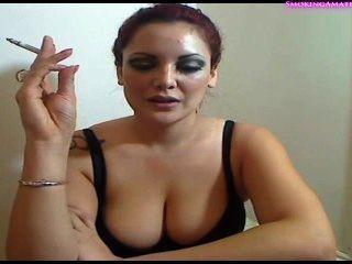 Sexy Girl Smoke And Teaser - Smoking Fetish -