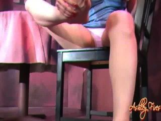 Ashley Fires Feet Spit