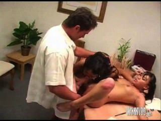 Mika Tan And Aveena Lee Do The Boss