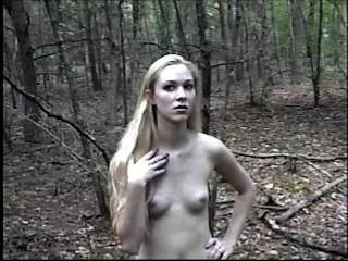 Kimber Outdoor Nude Tease