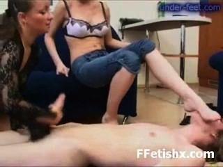 Astonishing Toe Fetish Sex For Girl