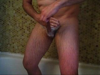 Me Shaving My Cock, Balls And Ass