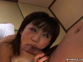 Japanese Teen Gets Her Hairy Pussy Stuffed Uncensored