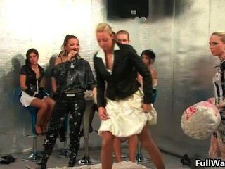 Group Of Horny Euro Babes Love Doing Part6