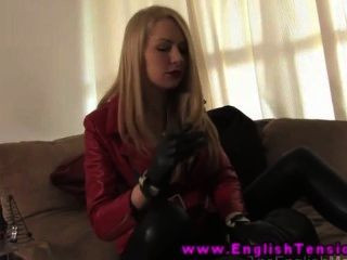 Blonde Mistress Getting Rough With Sub
