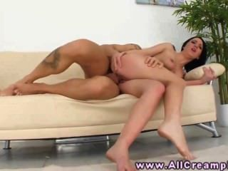 Sexy Creampie Cumshot Babe Bouncing On Dick