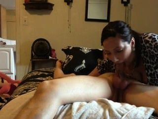 Blowjob Cum In Her Mouth