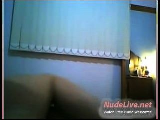 Super Hot 19yo Teen Showing Her Red Granny Panties On Webcam