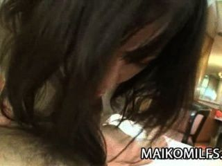 Makiko Nakane - Japanese Mom Spreading Her Legs For A Hard Cock