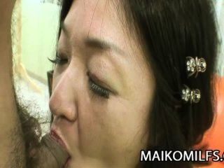 Chiyo Yamabe - Hairy Pussy Japanese Mother Satisfied By A Young Cock