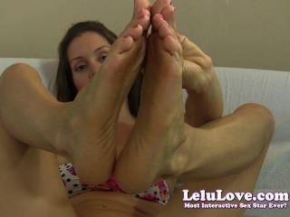 Lelu Love-toes Feet Jerkoff Encouragement
