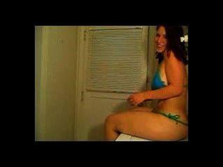 Mal Malloy Teal Bikini 4