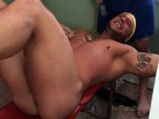 Sexy Huge Muscle Bound And Tickled - Ryan Skull