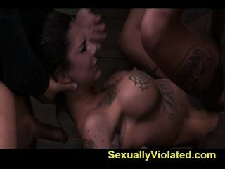 Bonnie Drooling Gagging And Cumming 1