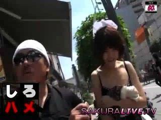 Cute Japanese Teen Gangbang Outdoors
