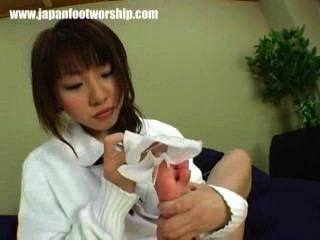 Japanese Foot Worship 20