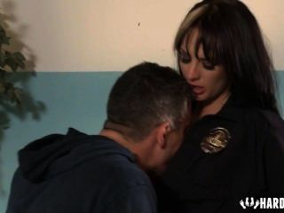 Police Woman Fucked Hard In Office