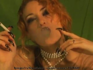 Kira Star Erotic Smoking