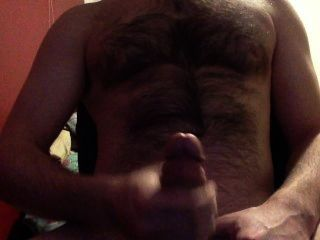 Jacking Off My Cock And Dripping Cum Onto My Balls