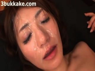 Asian Bukkake Cumslut Compilation 109023