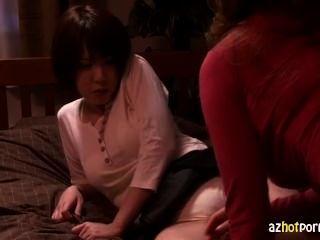 Futanari Strap On Lesbian Anal Play