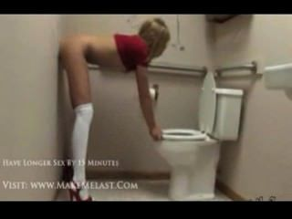 Chastity Lynn Fun In The Bathroom