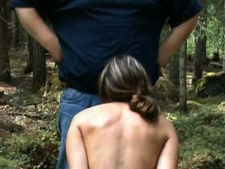 Juliette Captured - Cyclist Abused Blowjob In Woods