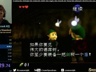 Ocarina Of Time Speedrun In 19:15