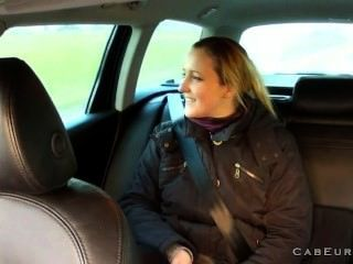 Fake Taxi Driver Anally Fucks Brunette On Backseat
