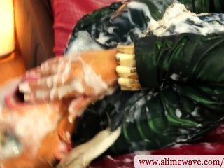 Gloryhole Bukkake Slut Getting Slimed In High Def