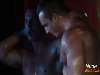Stockbar Sean Matthew Nude Shower Strippers
