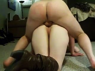 Anal On The Floor