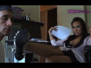 Asian Goddess Humiliate With Feet And Spit